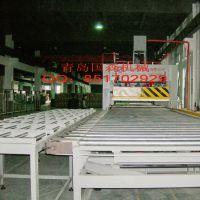 新型装饰材料连续进料轻质复合板层压机生产线设备厂家国森机械