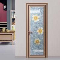 铝合金门窗十大品牌融骏门窗宝马系列卫生间门浴室玻璃门XP-198