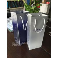 万顺厂家定做新款pp塑料袋 洋河酒业透明磨砂手提袋 包装袋