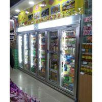 供应安德利一体机饮料冷藏柜 土豪金饮料展示柜 欢迎定做