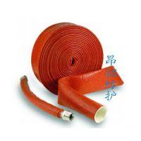 昂拓硅胶玻纤防火套管,耐温绝缘防火套管