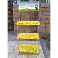 【厂家定制】宠物食品推广陈列架狗猫粮塑料展示架禽鸟食物促销堆头