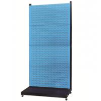 厂家信高供应固定型立式单面四层物料整理架新XKR14系列次重量方孔挂板百叶挂板