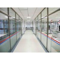 北京专业定做玻璃隔断安装玻璃门及维修
