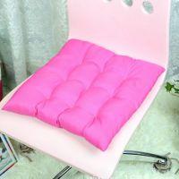 1526办公室居家椅子保暖增高加厚纯色坐垫/靠垫270g