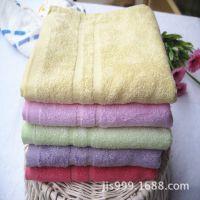 中国结二等竹纤维毛巾 柔软吸水 外贸特价 量大按斤卖 厂家直销