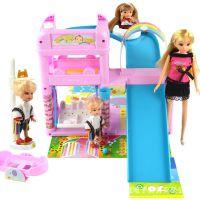 乐吉儿正版芭比娃娃 女孩过家家玩具梦幻游乐场芭比娃娃套装