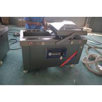 供应山东小康带汤汁的食品,大米DZ-600/2S型双室下凹型真空包装机