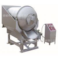 供应肉类食品大型加工设备 倾斜自动上料真空滚揉机