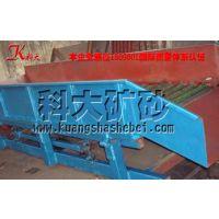 固定式溜槽淘金设备 山东固定式沙金提取机械