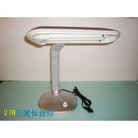三波长插管办公型台灯,27W工作台灯 QC检测灯,产品检测台灯
