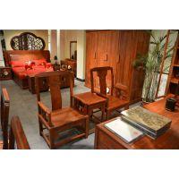 休闲椅-缅甸花梨3件套-红木椅子图片-东阳直销-全国批发