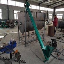 建筑公司石灰螺旋提升机 厚管壁蛟龙上料机 提升性强