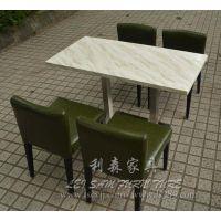 深圳龙华西餐桌 餐厅桌椅 甜品店桌椅 尺寸定做送货安装
