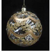 美迪玻璃厂 圣诞球 圣诞树悬挂挂件 圣诞节礼品 装饰品 彩绘球