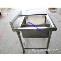 加工定做304不锈钢水槽 厨房水槽不锈钢 手工水槽 厨房设备厂家