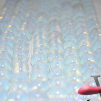 天然水晶饰品 蛋白石 4-16mm 水晶散珠配件半成品批发
