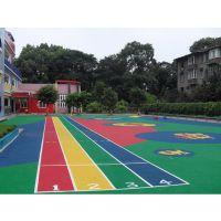 广西EPDM塑胶跑道材料厂家桂林幼儿园运动地面地坪建设施工公司梧州彩色塑胶地面材料每平米价格