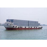 供应烟台莱山区到广东湛江门到门水运集装箱运输