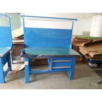 带挂板钳工台|富新源专业生产|实木台面钳工实训台