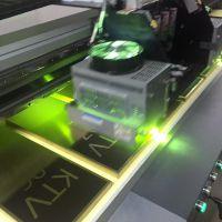 深圳亚克力标识牌 透明有机玻璃UV喷绘加工