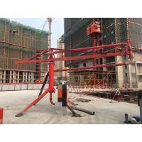 广西北海鑫旺HG12型混凝土输送散料布料机圆柱式方便移动
