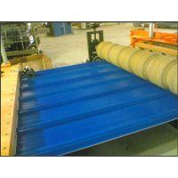 供应三辊压光高速塑料波浪瓦挤出成型设备