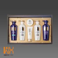 韩国正品 6件套洗护礼盒 白/紫六件套装 洗发水护发素