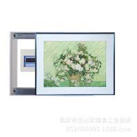 配电箱推拉式装饰画遮盖闭路盒电表箱挂画,布纹膜画芯