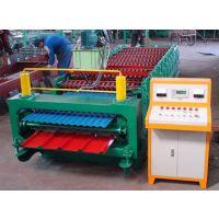 渤海860/850双层彩钢压瓦机制作更精准板型更完美知名品牌畅销全国各地