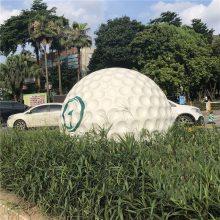 玻璃钢高尔夫球模型|房地产开盘签名游乐场道具高尔夫球