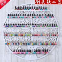 壁挂指甲油架 亚克力透明指甲油架 美甲店展示货架 化妆品收纳架