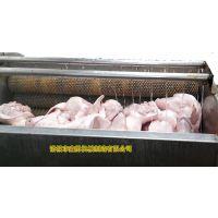 鑫勇XY-12自动猪头猪蹄清洗机 毛辊清洗设备