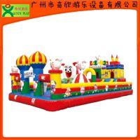 江西萍乡哪里有充气城堡卖?广州奇欣充气跳跳床厂家(QX-116L)