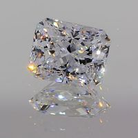 宝石原石 合成宝石 戒指配件 锆石 玻璃 可定制 长方天然低 直批