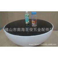 工厂直销 批发供应 大碗茶几塑料茶几玻璃茶几圆形茶几