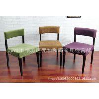 特价新款布艺可拆洗餐椅矮背椅火锅椅西餐厅酒店椅咖啡店餐厅椅子