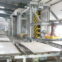 供应一种新型热压法生产木塑板材生产设备-青岛国森机械