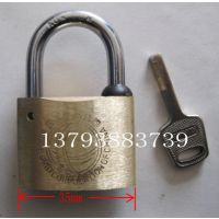 35mm叶片电力表箱锁铜挂锁 通开电力表箱锁昆仑锁