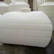 卧式化工储罐厂家 耐酸碱1000l卧式PE硝酸储罐价格