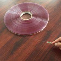 Sunjia/双佳外贸出口 15/5/7MM印红线OPP封缄胶带,轻剥离环保双面胶带