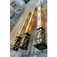 供应陕西景观灯铸铝型材庭院灯 订做欧式现代花园小区路灯防水led户外庭院灯 中山创赢照明厂