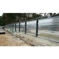 深圳工程烤漆面板围墙安装施工