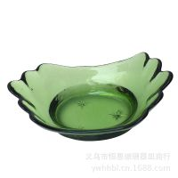厂家直销可爱创意小元宝筷子架调味碟 批发新款酒店玻璃餐具