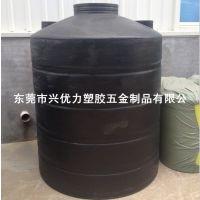 广东容器厂家直销:进口聚乙烯LLDPE平底水箱 兴优力盐酸稀释储罐 抗冲击化工运输储罐