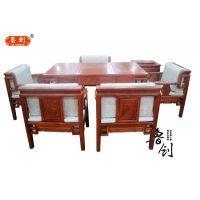 舒心茶桌定做红木家具价格、古典家具款式图、红木家具市场