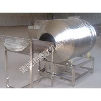 供应豪联牌HLB-500型滚筒式鱼豆腐拌料机调味拌料均匀不伤物料