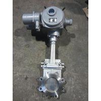 PZ973H、PZ973X、PZ973Y电动刀型闸阀、耐磨刀闸阀