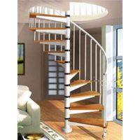 逸步楼梯(图)|别墅铸铁旋转楼梯|武汉旋转楼梯