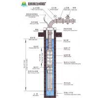 深井潜水泵250QJR100-300深井泵 井用潜水泵 深井/井用潜水电泵